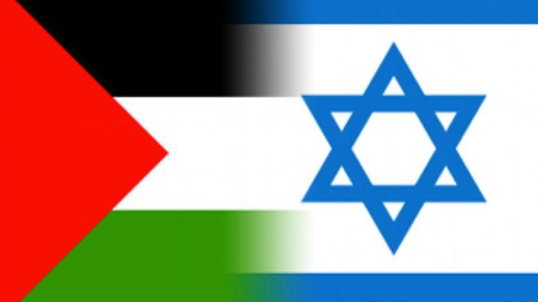 Israel-and-Palestine-flags